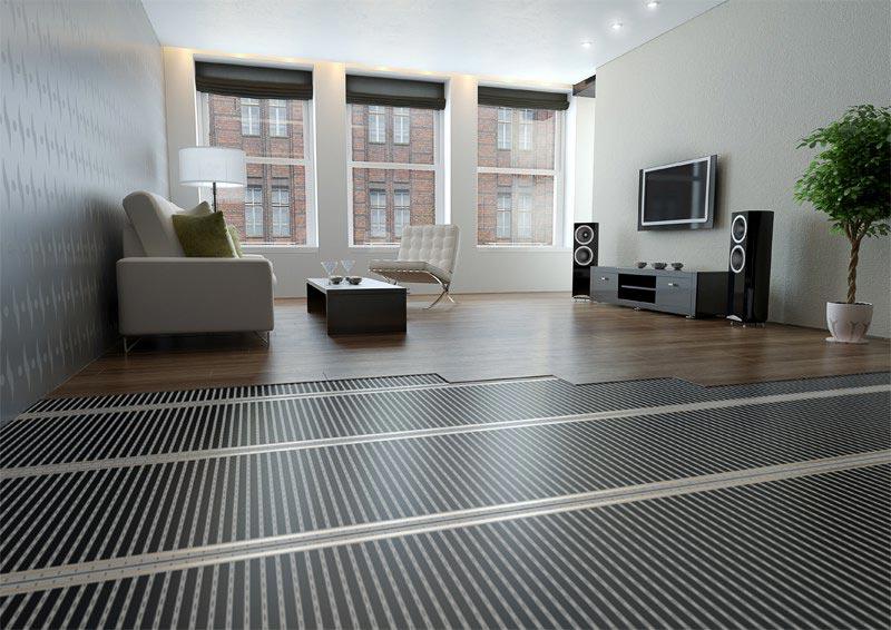 Podlahové infrapanely